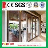 Дверь складчатости верхнего качества алюминиевая