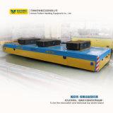 chariot 25t plat motorisé par cargaison lourde fonctionnant sur le chemin de fer