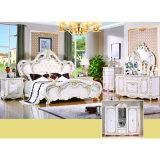 La mobilia classica della camera da letto ha impostato con il re Bed ed il Governo (W815)