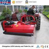 met de Dubbele Partij die van de Tractor van het Gazon van Bladen Maaimachine (EFDL105) met mulch bedekken