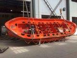 Canoa de salvação aberta do SOLAS com preço barato do motor interno