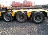 Verwendeter niedriger Bett-Sattelschlepper-Lastwagen-Schlussteil des LKW-Schlussteiles
