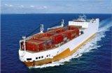 La carga de mar más inferior a Egipto