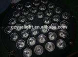 Свет светлого этапа РАВЕНСТВА цены по прейскуранту завода-изготовителя 4in1 RGBW 54 СИД