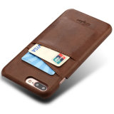 iPhone 7을%s 진짜 지갑 가죽 상자