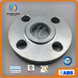 ASTM A105 a galvanisé la glissade d'acier du carbone sur la bride avec OIN (KT0590)