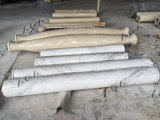 (SYF1800)側面図を描き、打抜き機大理石の柱
