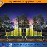 Type fontaine de l'eau de construction urbaine de modèle de Seafountain divers de musique de multimédia