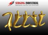 Hoge Precisie CNC die Messing/Koper/Bronze/CNC machinaal bewerken die de Nauwkeurige Delen van het Staal van het Messing draaien