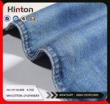 Indigo Twill Cotton Spandex Slub Mercerizing Denim Fabric; 9.7oz