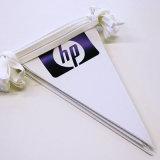 Variopinto progettare le bandierine per il cliente della stringa stampate grafici per la decorazione