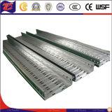 Escada de alumínio industrial do cabo da carga pesada