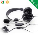 Hoofdtelefoon de van uitstekende kwaliteit van de Hoofdtelefoon van de Computer met Mic van de Leverancier van China