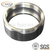 CNC Machining Hardware Nut mit Double Pipeline (HY-J-C-0017)