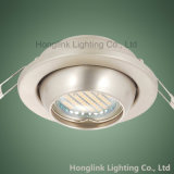 Regelbare GU10/MR16 5W 3W LED Recessed Ceiling Downlight Fixture voor Whole Sale