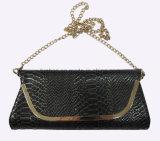 뱀 피부 패턴, 작은 핸드백, 대중적인 지갑