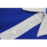Mann-Form-Polo-Hemd-Förderung gedrucktes Farben-T-Shirt