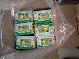 il cotone non tessuto spesso 90PCS pulisce l'aloe Vera & i Wipes del bambino della vitamina E
