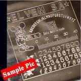 con máquina de grabado del metal de la venta caliente del CE la pequeña