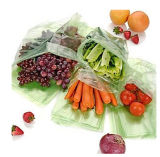 Verde de alta calidad bolsa y bolsas de plástico frescas