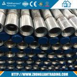 Tubos cuadrados / rectangulares de acero / tubos Sección hueca Galvanzied / negro Recocido
