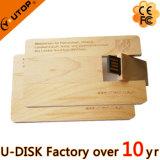 USB girante di legno Pendrive (YT-3132L1) dei regali promozionali della mobilia