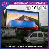 La publicité flexible mince extérieure de véhicule d'écran de P3.91 SMD DEL