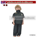 Costume del vestito operato dal partito di orrore di Halloween dei ragazzi del ragazzo di banco delle zombie dei capretti (COS8082)