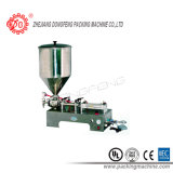 Machine de remplissage de table principale simple de piston pour le liquide et la pâte (SPF)