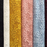 Cotone Lace Fabric di Big Flower (6008)