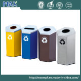 Four-Stream Waste e Recycling Trash Bin