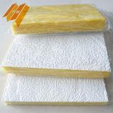 placa do teto da fibra de vidro da cor do branco de 600*600mm (teste padrão do PVC)