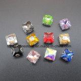 Het bergkristal naait op het Gouden Bergkristal van het Kristal van het Glas van de Daling van het Water van de Klauw (sW-Daling 13*18mm)