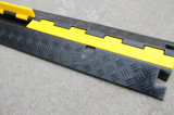 1-Channel Traffic Rubber Protector Câble