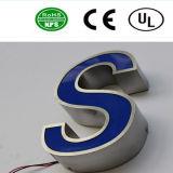Signe extérieur de lettre en aluminium de DEL