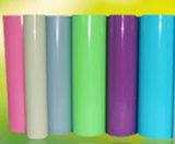 분홍색, 회색, 녹색, 파랗고, 까맣고, 자주색, 백색, 황금, 은, 투명한 PVC 필름
