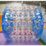 Bille gonflable de l'eau du bleu PVC/TPU/bille colorée de l'eau/bille de plage gonflable