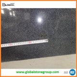Encimeras del granito del negro de la cebra de China G654