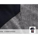 T-shirt commun fait sur commande de marque de coton de la mode des hommes