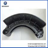 Patin de frein de pétrole 220 millimètres de 15holes Qt450 de fer de type matériel de bâti pour la remorque de camion du Japon pour Nissans