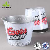 도매를 위한 맥주 와인 쿨러 주석 얼음 양동이를 위한 금속 주석 물통