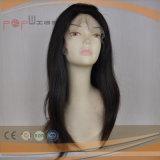 100% synthetische kurze Längen-voller maschinell hergestellter Typ Faser-Frauen-Perücke (PPG-c-0084)