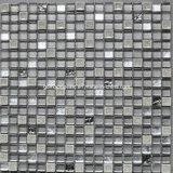 mosaico de cerámica y de cristal del crujido cuadrado del hielo de 300*300m m con mármol