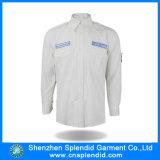 Shenzhen-Kleid-weiße Baumwollform-Mann-Hemden