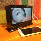 O USB move o carregador 20000mAh do banco da potência externa do Portable para o iPhone 6 6s mais a galáxia S7 S6 S5 HTC de 5s Samsung