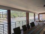 Le polycarbonate transparent à la maison résidentiel enroulent la porte d'obturateur