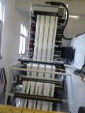 Máquina de impresión flexográfica para bolsa de Hamburgo y paquete de alimentos