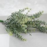 El plástico sale de la flor de Aritificial para la boda/la decoración casera/del jardín (SF16297A)