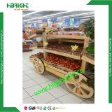 Présentoir en bois élégant de pain à vendre