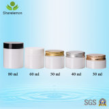 60ml leeren kosmetischer Plastikbehälter bereiftes Sahneglas für Augen-Schatten